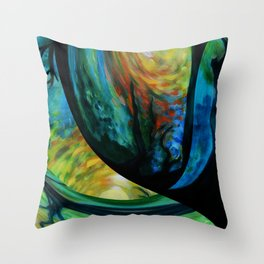 Sunrize and Sunset Throw Pillow
