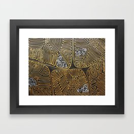 Mitochondrial Membranes Framed Art Print