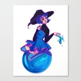 Mercury Witch Canvas Print
