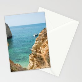 A small inlet suitable for swimming Stationery Cards
