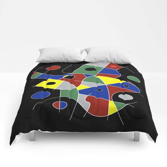 Abstract #232 Comforters