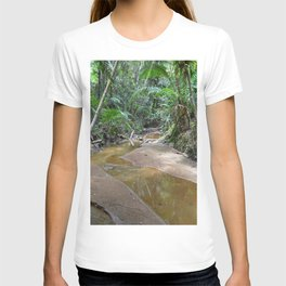 The Holy Spirit deep-forest river explorations in El Yunque rainforest PR T-shirt