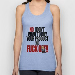 Get off my back - 5a Unisex Tank Top
