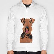 Airedale Terrier Dog Art Hoody
