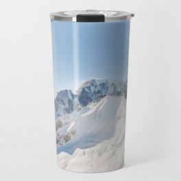 Monte Bianco / Mont Blanc mountain's beauty Travel Mug