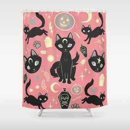 Witch Babies Shower Curtain