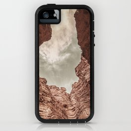 Curved Rocks iPhone Case