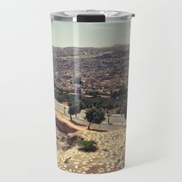 Fez - the ancient city. Original photograph. Travel Mug