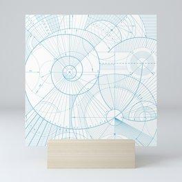 Geometric & School Shapes Art Mini Art Print