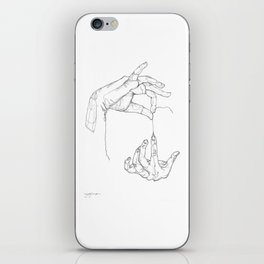 UNRAVEL YOURSELF iPhone Skin