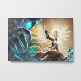 Valkyrie's Last Stand Metal Print