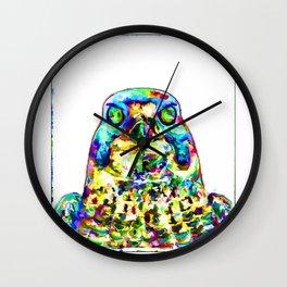 Peregrine Falcon Wall Clock