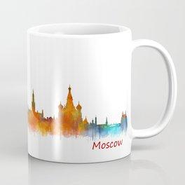 Moscow City Skyline art HQ v2 Coffee Mug