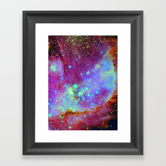 Stellar Nursery Framed Art Print