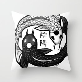 Balance Design Throw Pillow