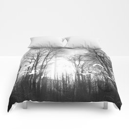 Ghost Forest Comforters