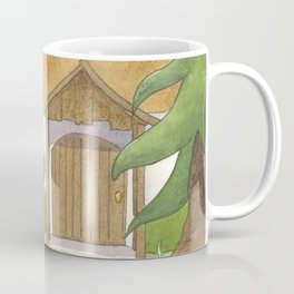 Goldilocks Comes Upon a Woodland Cottage Coffee Mug