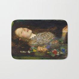OPHELIA - JOHN EVERETT MILLAIS Bath Mat