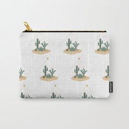 Tucson Arizona Cactus Terrarium Carry-All Pouch