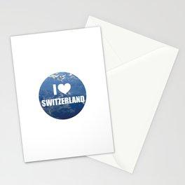 I Love Switzerland Stationery Cards