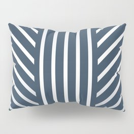 Lined Navy Pillow Sham