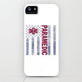 PARAMEDIC iPhone Case