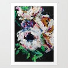 Blurred Vision Series - Ranunculus Bouqet No. 1 Art Print