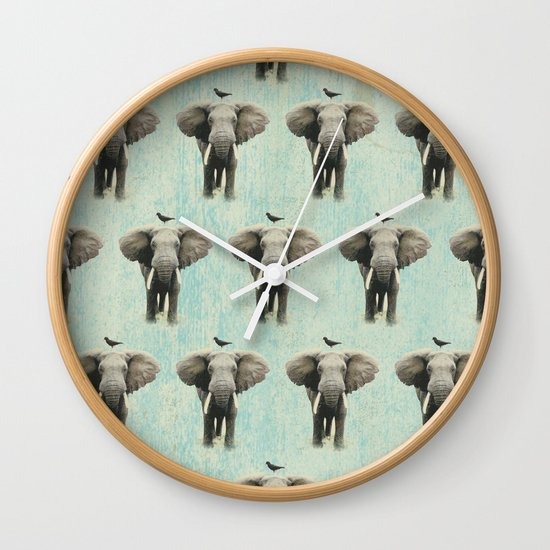 friends for life wall paper Wall Clock