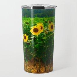 Sunflower Season Travel Mug
