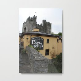 Durty Nellys And Bunraty Castle Metal Print