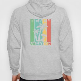 Vintage 1970's Style Beach Vacation Graphic Hoody