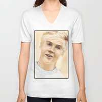 niall V-neck T-shirts featuring Niall by Sayrise