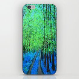 Bluebell woods  iPhone Skin