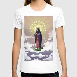 Immaculate Virgin digital painting T-shirt