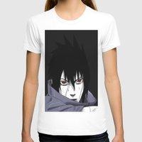 sasuke T-shirts featuring Sasuke Uchiha  by Iotara