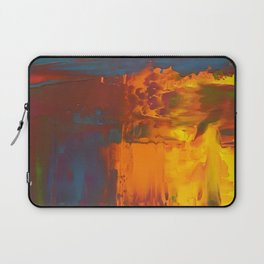 Layers of Solid Color Laptop Sleeve