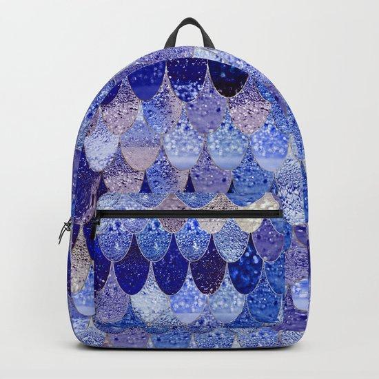 SUMMER MERMAID ROYAL BLUE Backpack