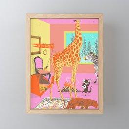 LET'S PARTY! Framed Mini Art Print