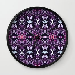 Jewel Glow Wall Clock