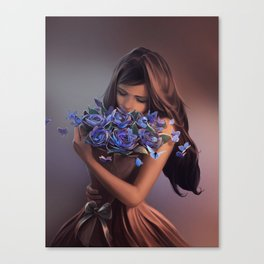 Ephemeral Beauty Canvas Print