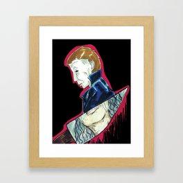Blood Brother Framed Art Print