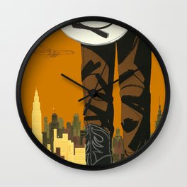A Man Wall Clock