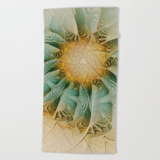 Fractal Fantasy Beach Towel