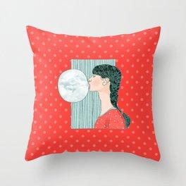 Blow your stress away Throw Pillow