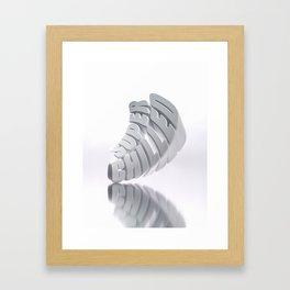 SUPER CHILLED - Type Art Framed Art Print
