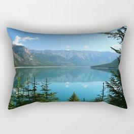 Beautiful Lake Minnewanka Rectangular Pillow