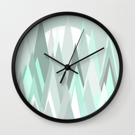 THE FROZEN FOREST 2 Wall Clock