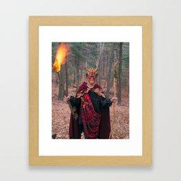 The Man of Wands Framed Art Print