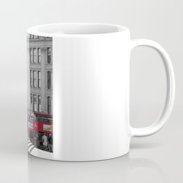 The Steps of St Paul's and London Buses Coffee Mug
