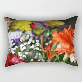 ~Flower Madness ~  Rectangular Pillow